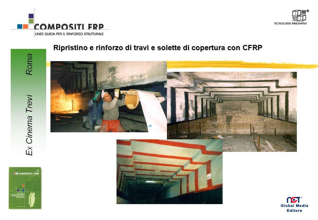Ripristino e rinforzo di travi e solette di copertura con CFRP