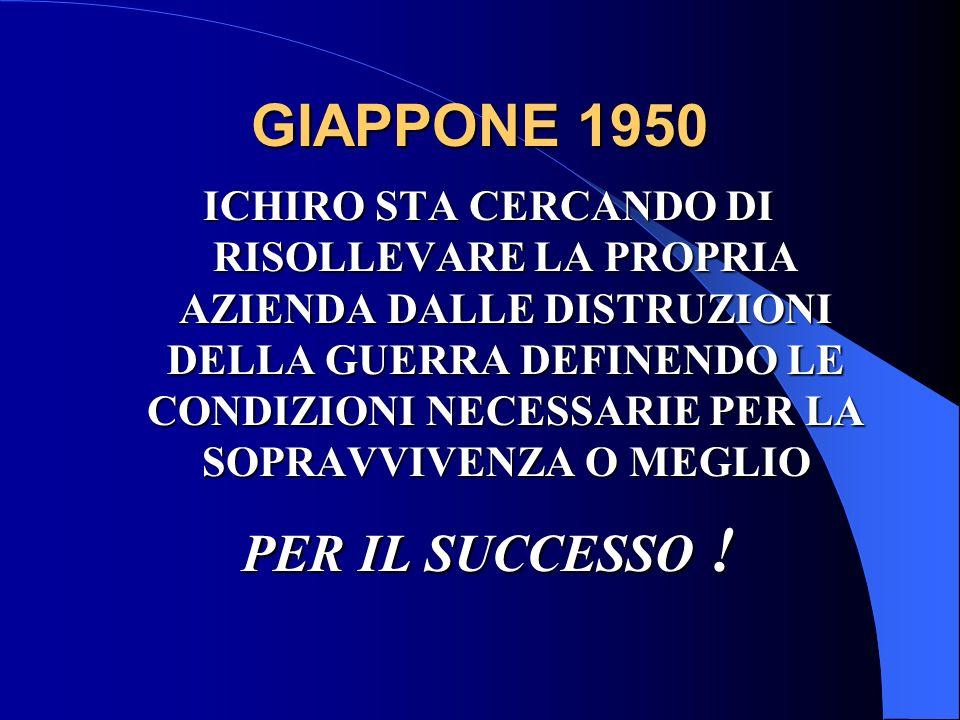 GIAPPONE 1950 PER IL SUCCESSO !