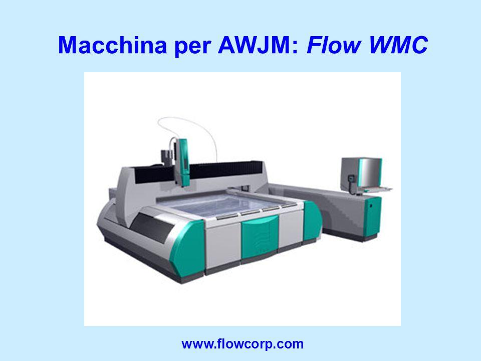 Macchina per AWJM: Flow WMC