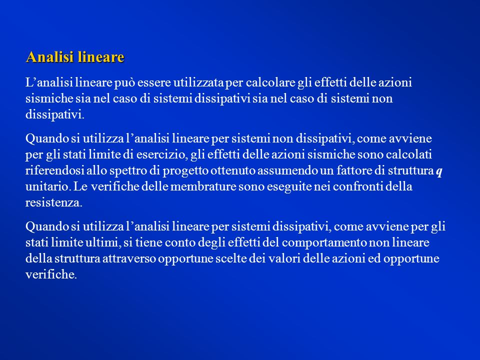 Analisi lineare