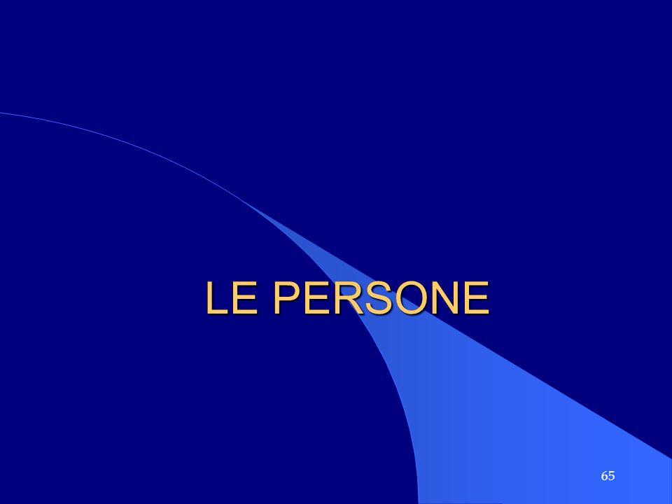 LE PERSONE