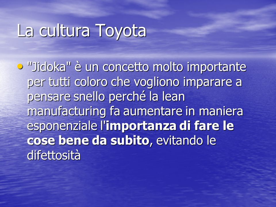 La cultura Toyota