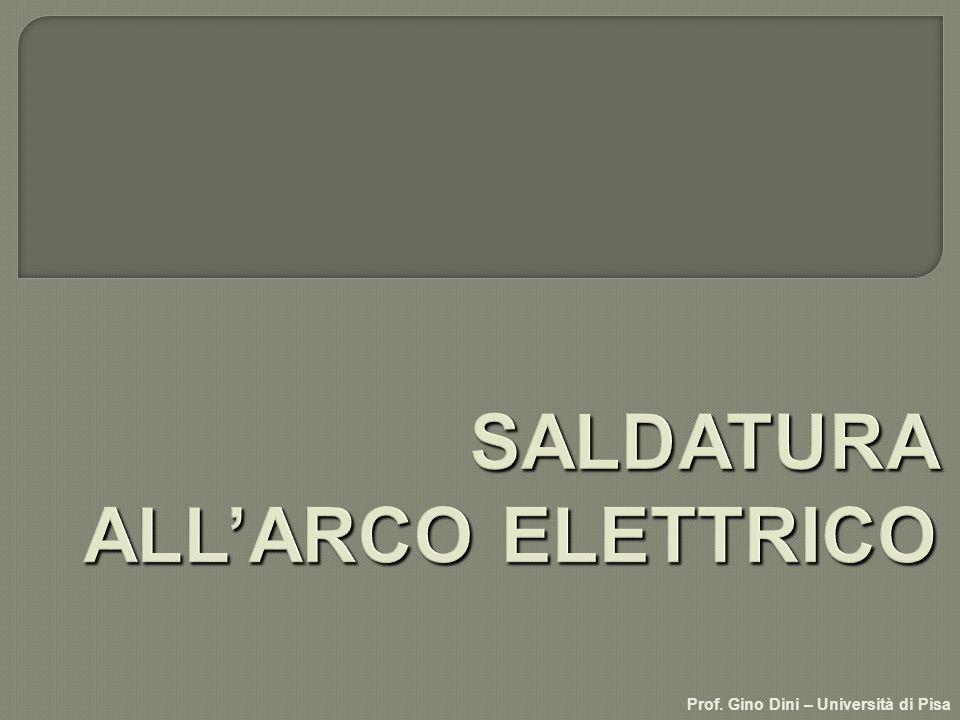 SALDATURA ALL'ARCO ELETTRICO