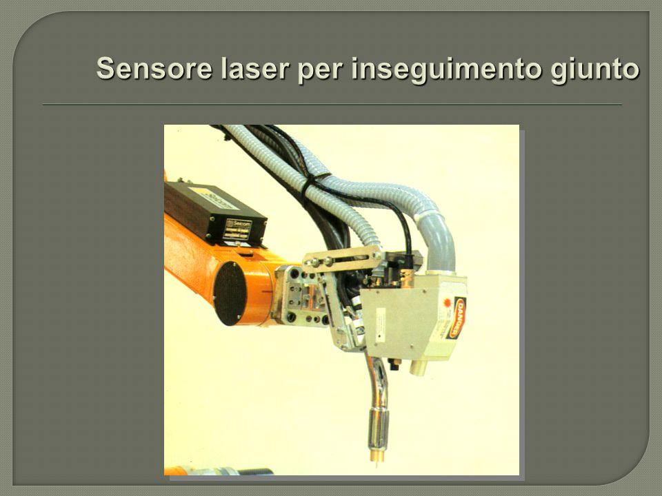 Sensore laser per inseguimento giunto