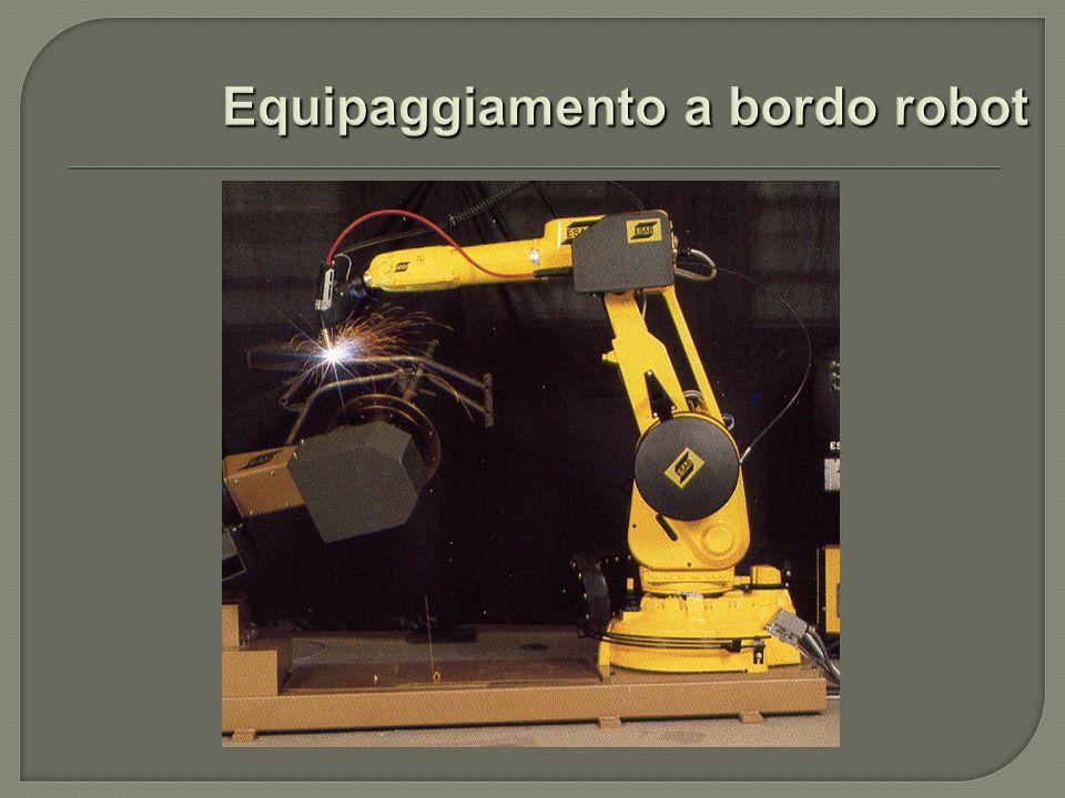 Equipaggiamento a bordo robot