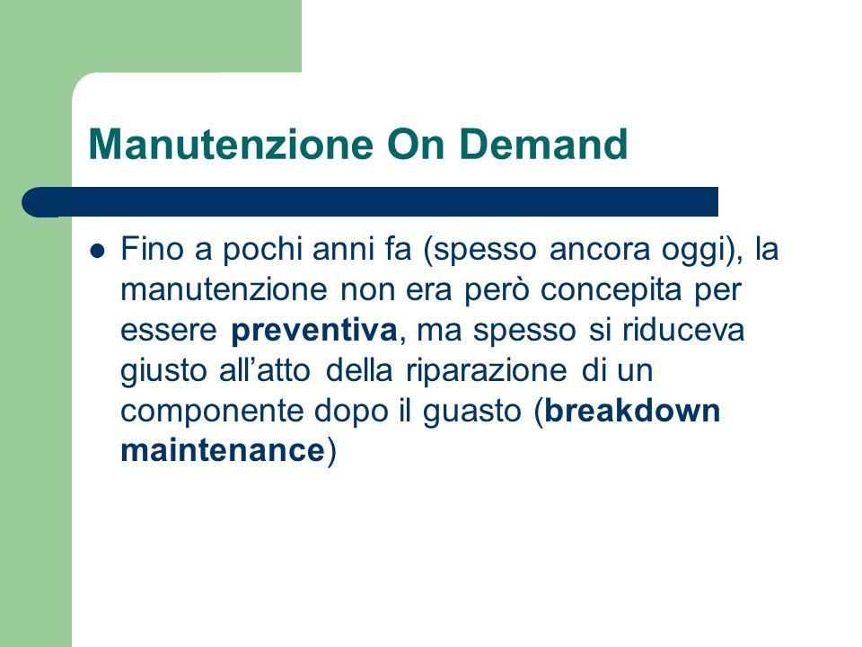 Manutenzione On Demand