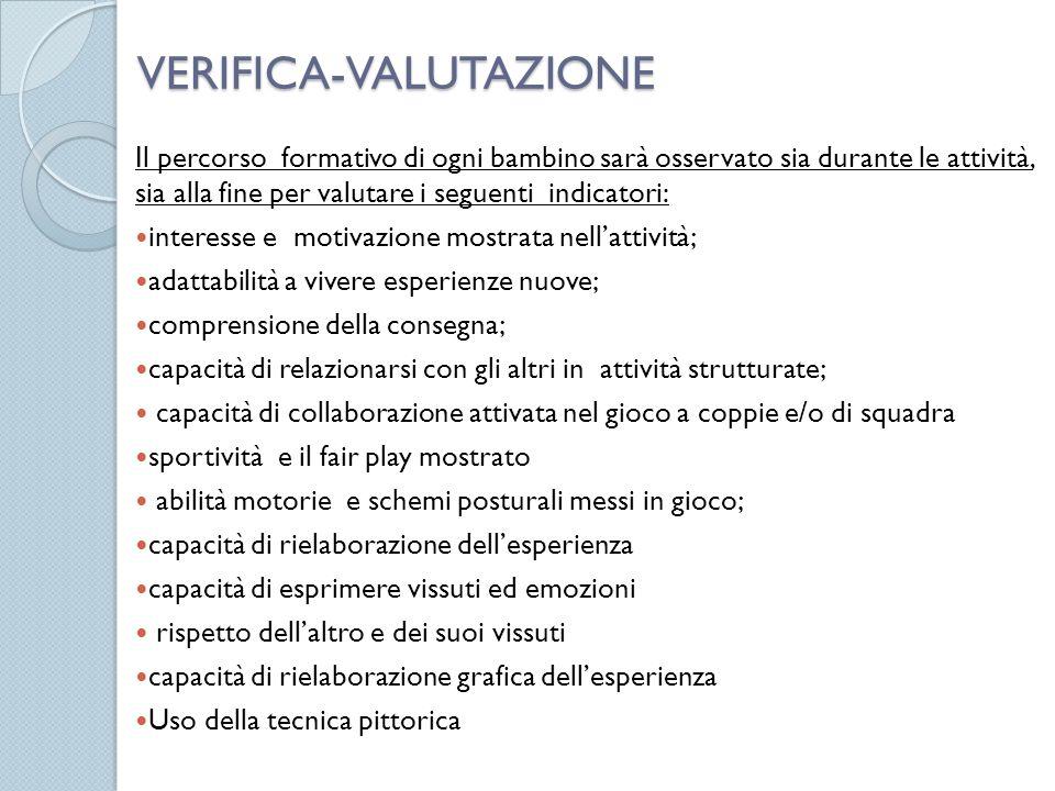 VERIFICA-VALUTAZIONE