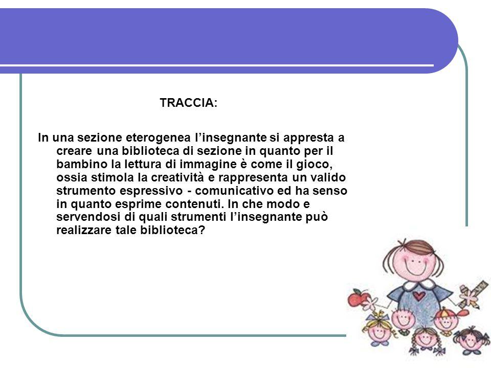 TRACCIA: