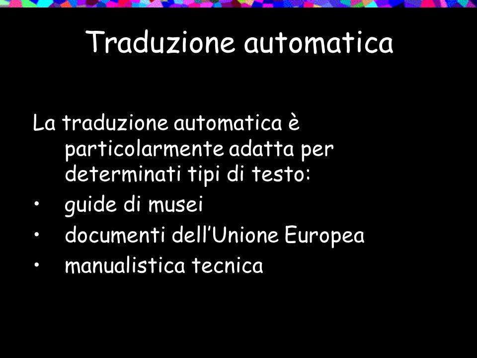 Traduzione automatica