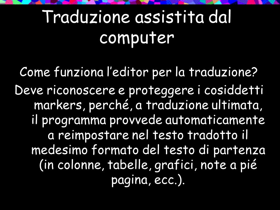 Traduzione assistita dal computer