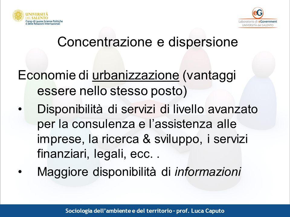 Concentrazione e dispersione