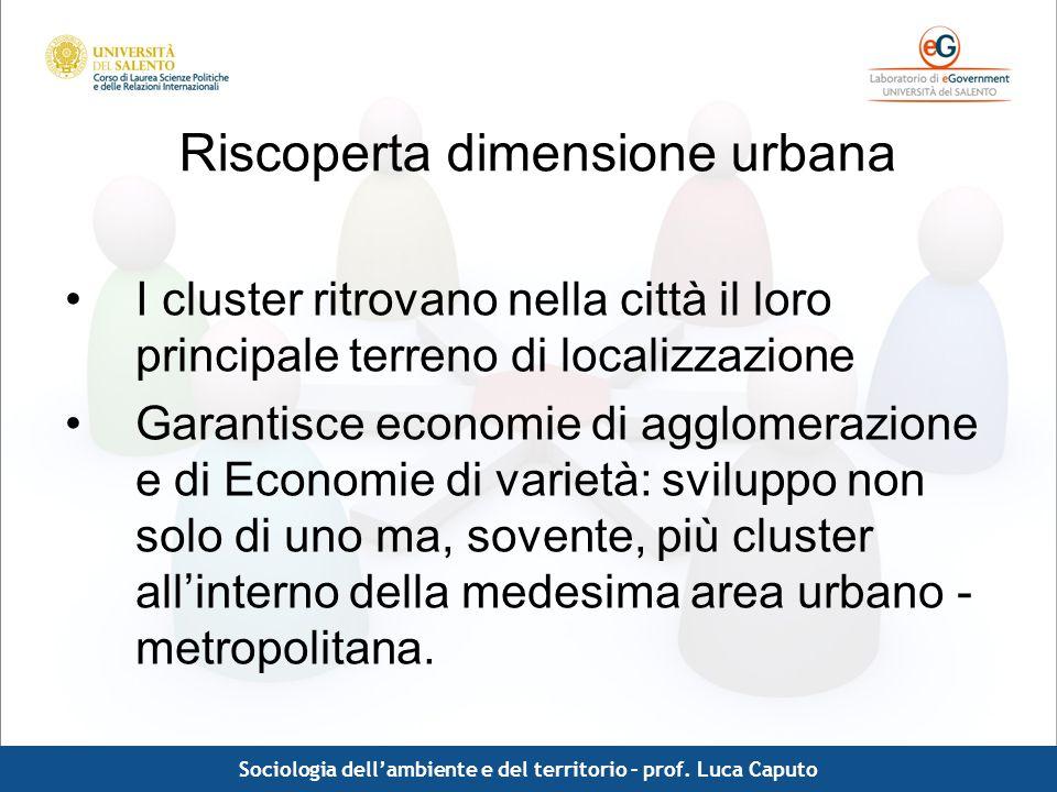 Riscoperta dimensione urbana