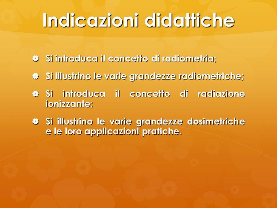 Indicazioni didattiche
