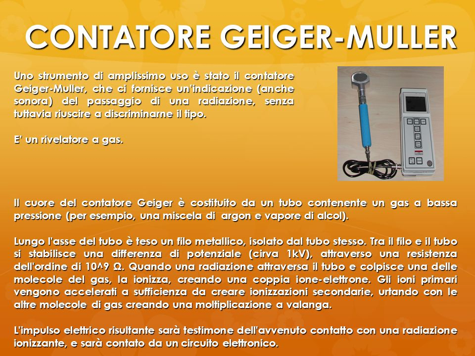 CONTATORE GEIGER-MULLER