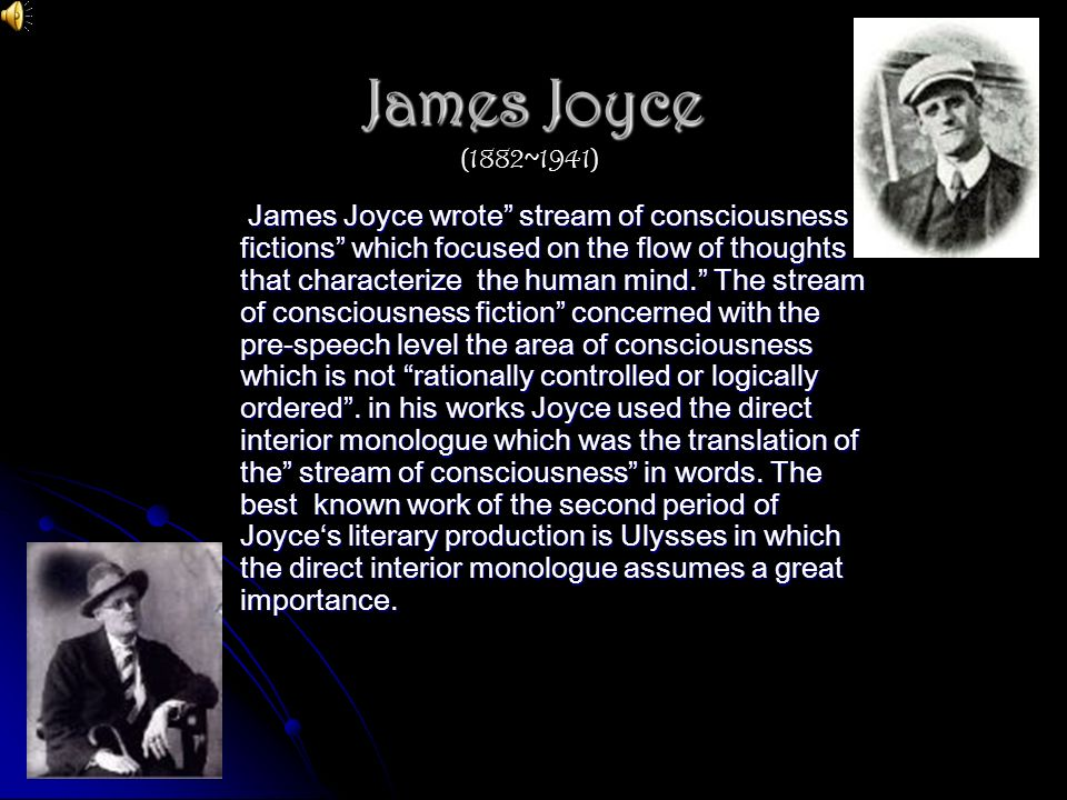 James Joyce (1882~1941)