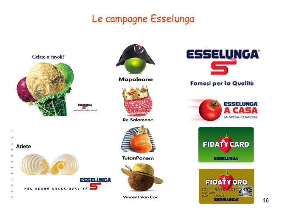 Le campagne Esselunga