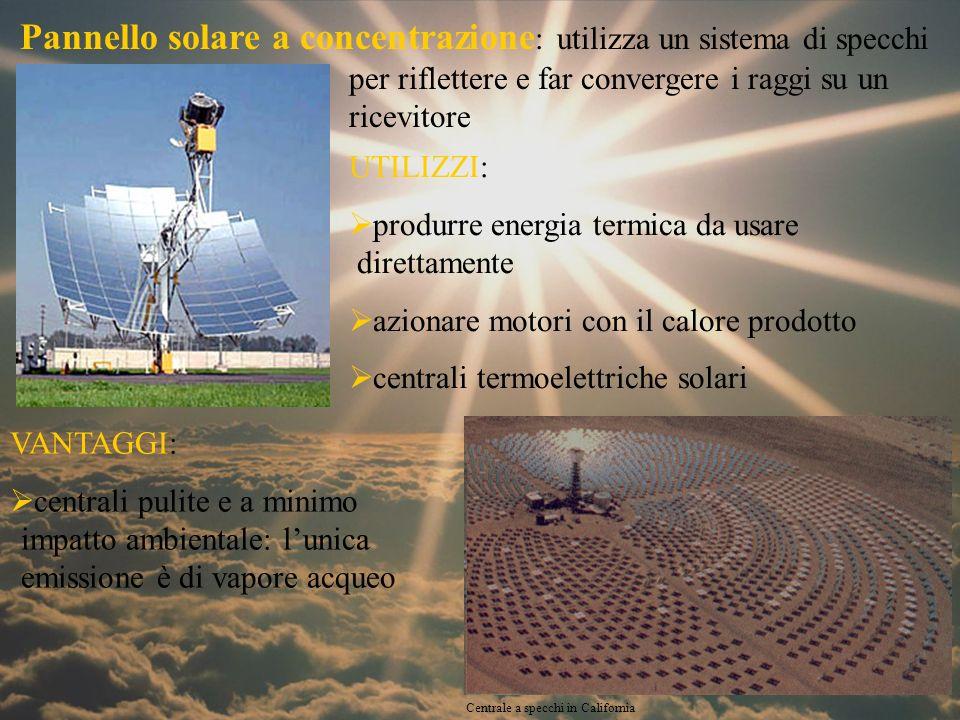 Pannello Solare Per Pompa Di Calore : Pannello solare a concentrazione utilizza un sistema di
