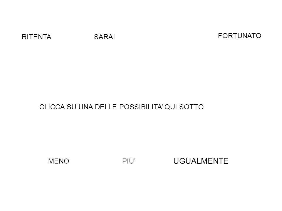 UGUALMENTE RITENTA SARAI FORTUNATO