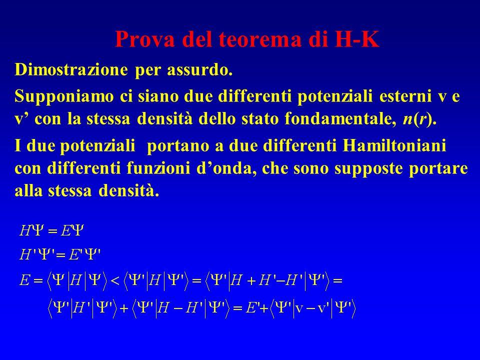 Prova del teorema di H-K