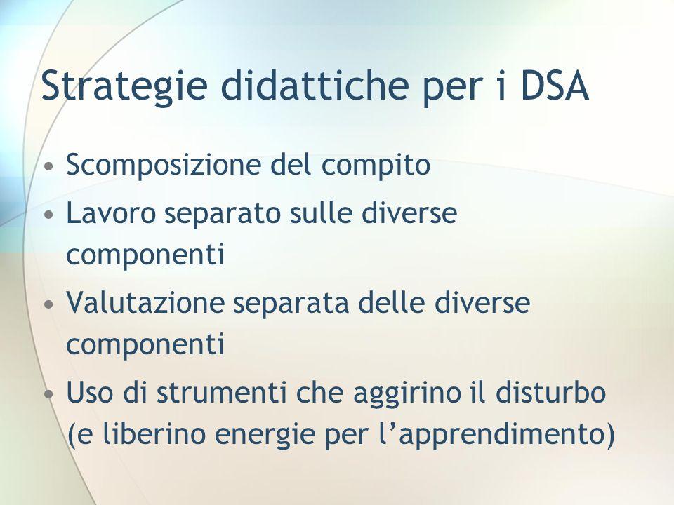 Strategie didattiche per i DSA