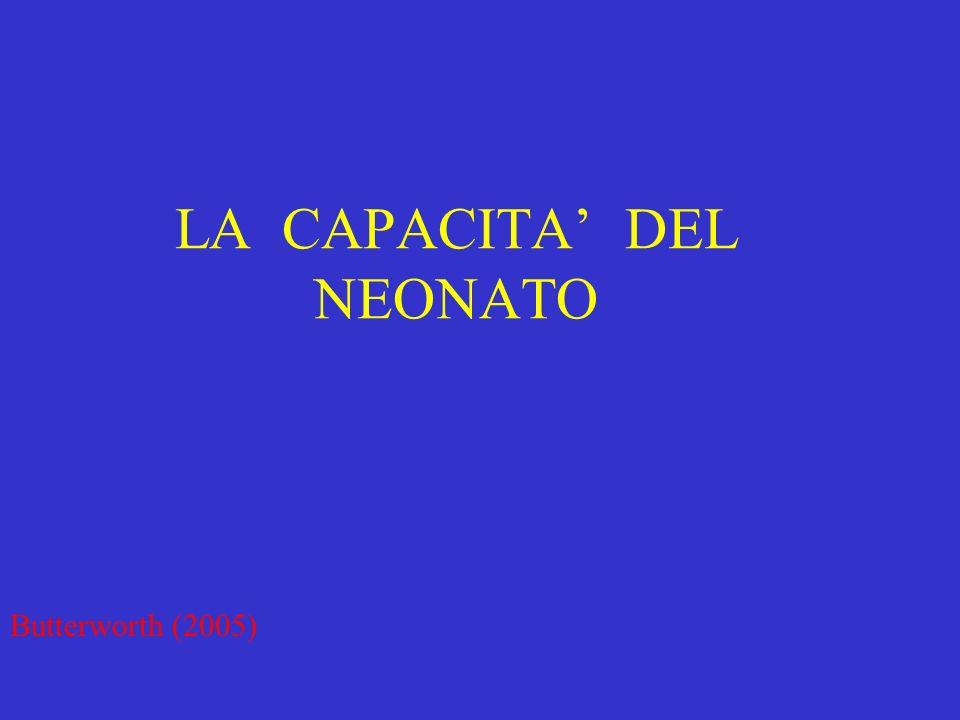 LA CAPACITA' DEL NEONATO