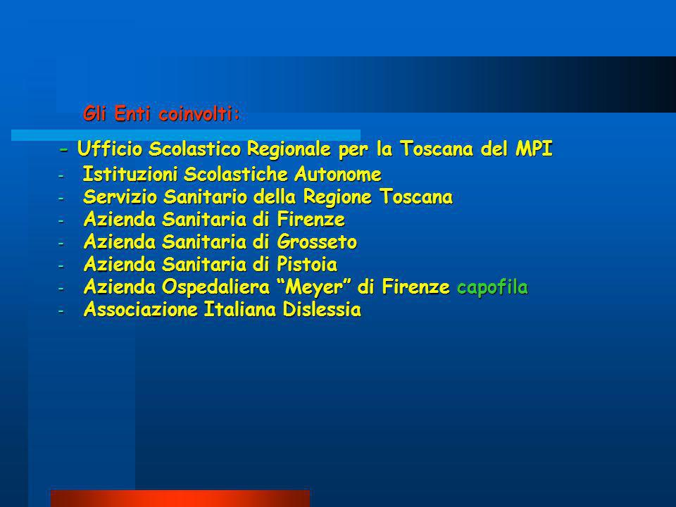 Associazione italiana dislessia regione toscana ppt for Azienda italiana di occhiali