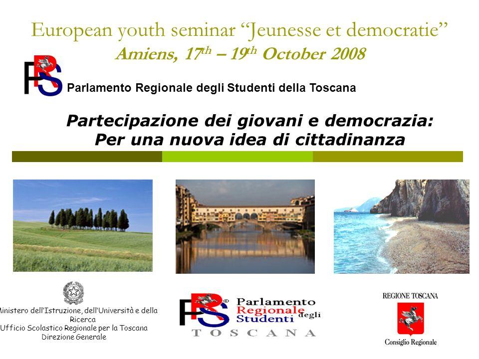 Partecipazione dei giovani e democrazia: