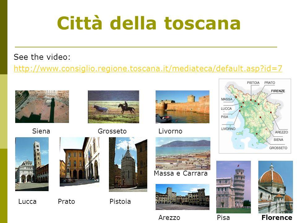 Città della toscana See the video: