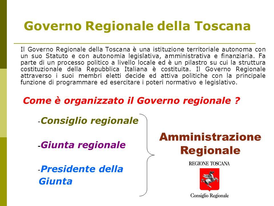 Governo Regionale della Toscana