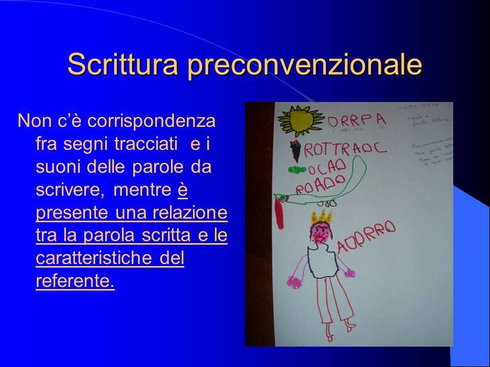 Scrittura preconvenzionale