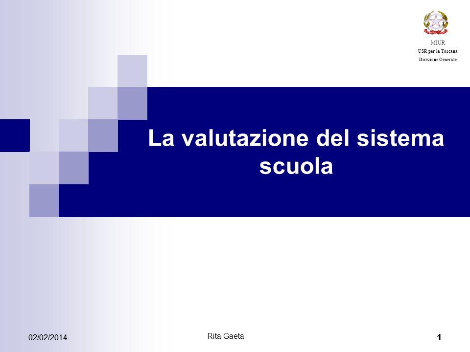 La valutazione del sistema scuola