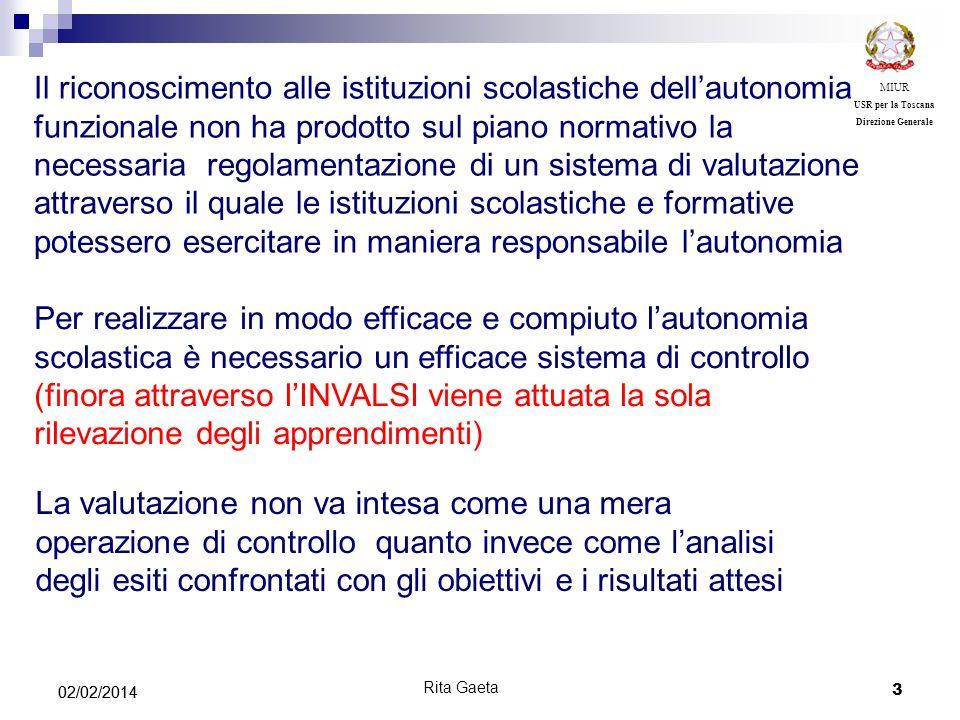 MIUR USR per la Toscana. Direzione Generale.