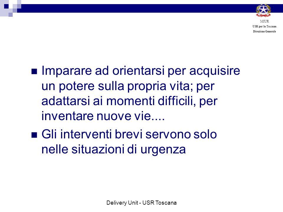 Delivery Unit - USR Toscana