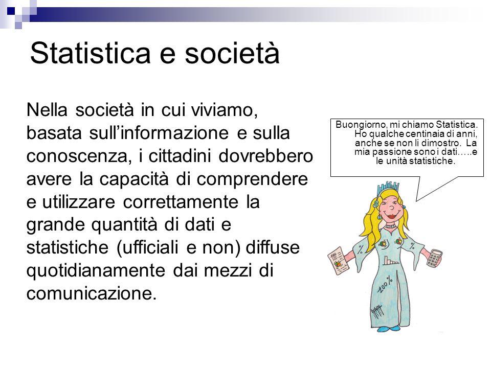 Statistica e società