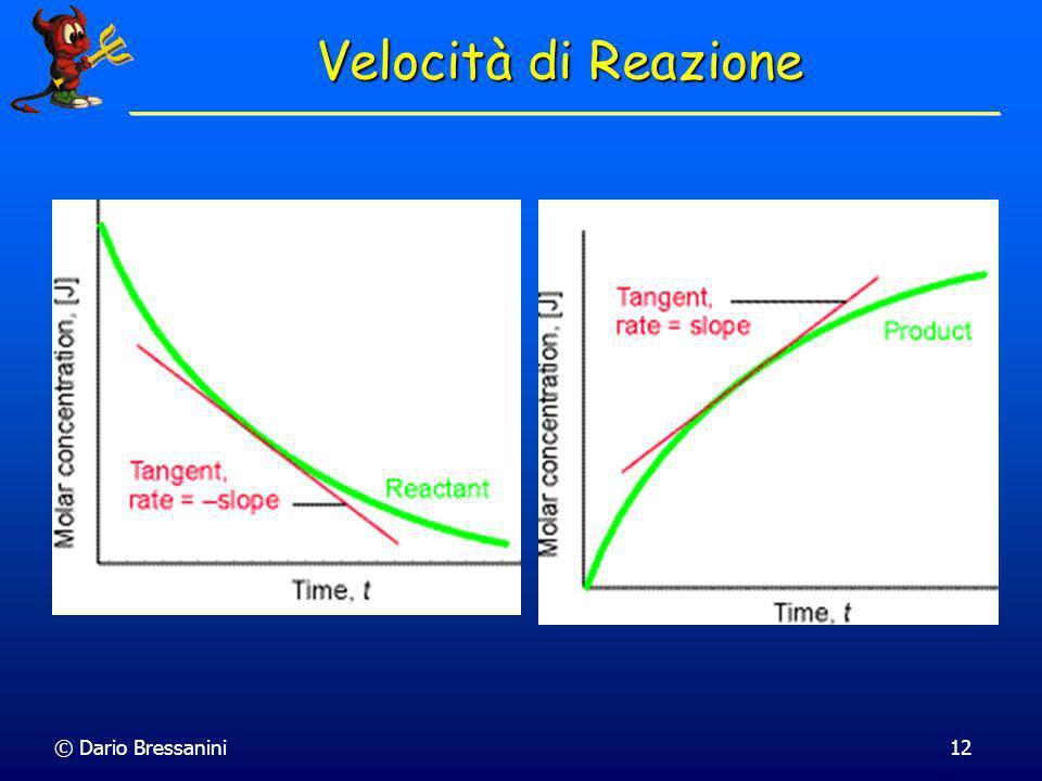Velocità di Reazione © Dario Bressanini