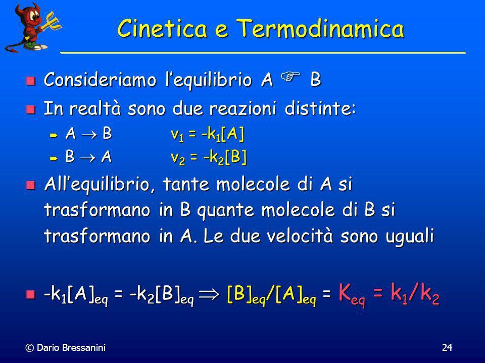 Cinetica e Termodinamica