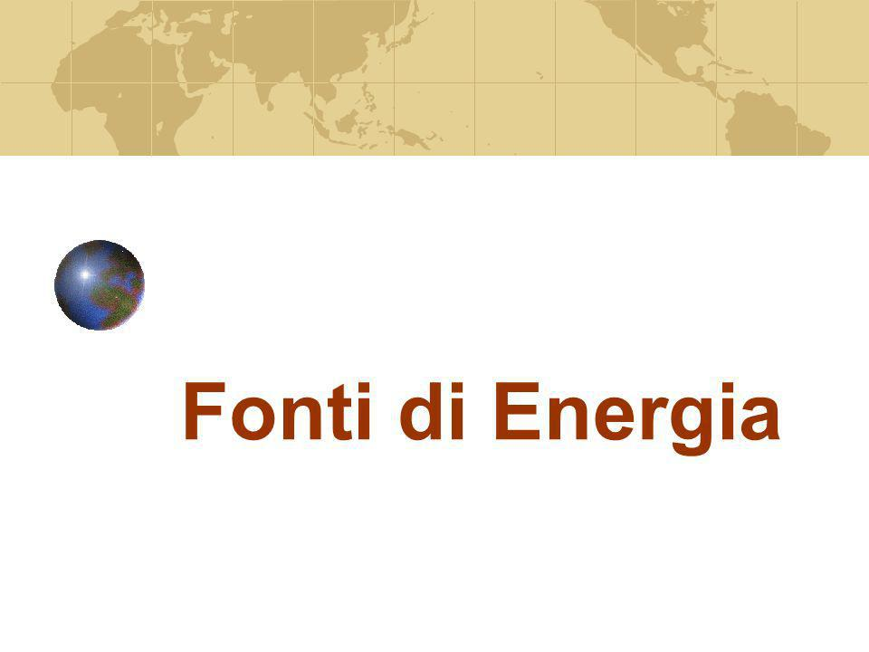 Fonti di Energia