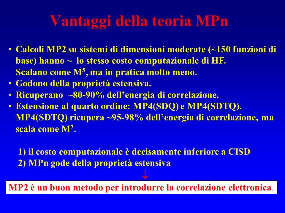 Vantaggi della teoria MPn