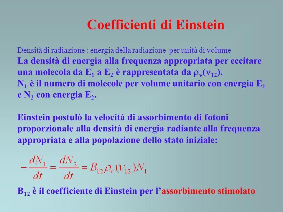 Coefficienti di Einstein