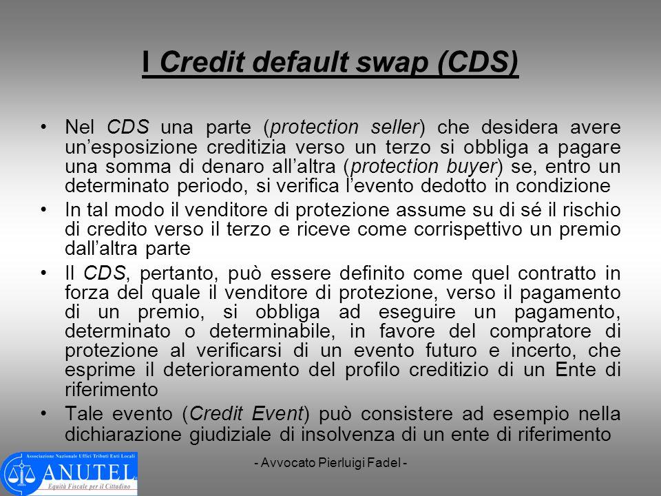 I Credit default swap (CDS)