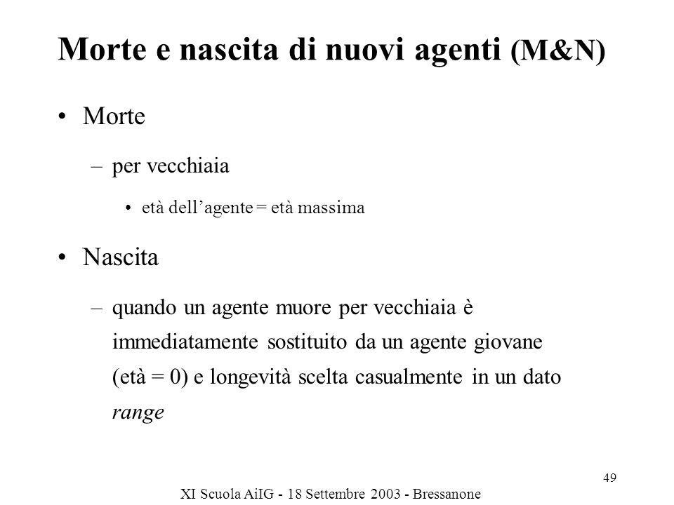 Morte e nascita di nuovi agenti (M&N)