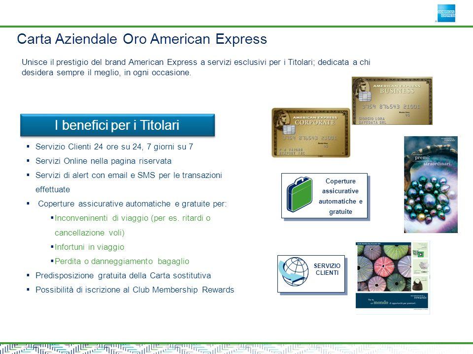 Carta Aziendale Oro American Express