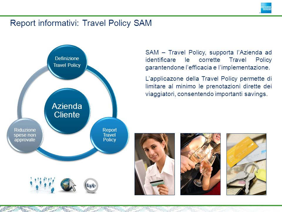 Report informativi: Travel Policy SAM
