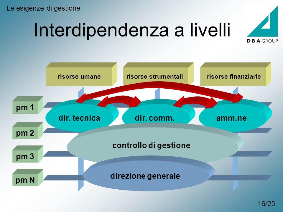 Interdipendenza a livelli