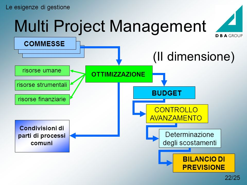 Multi Project Management