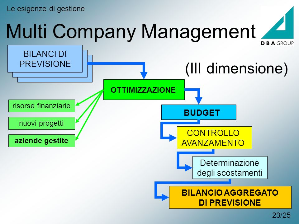 Multi Company Management
