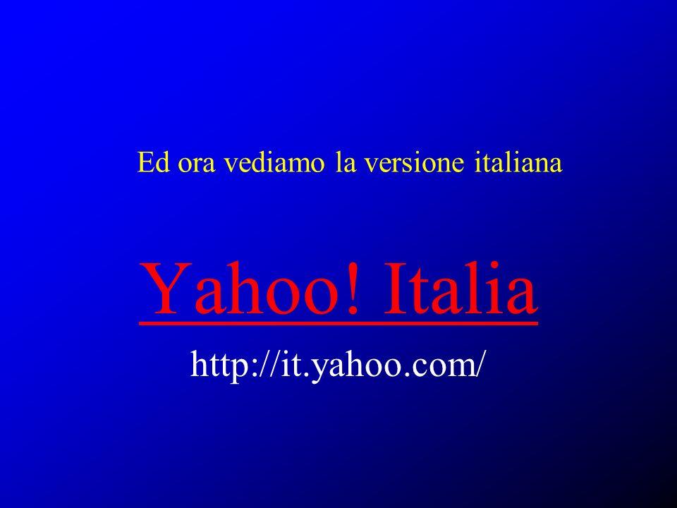Ed ora vediamo la versione italiana