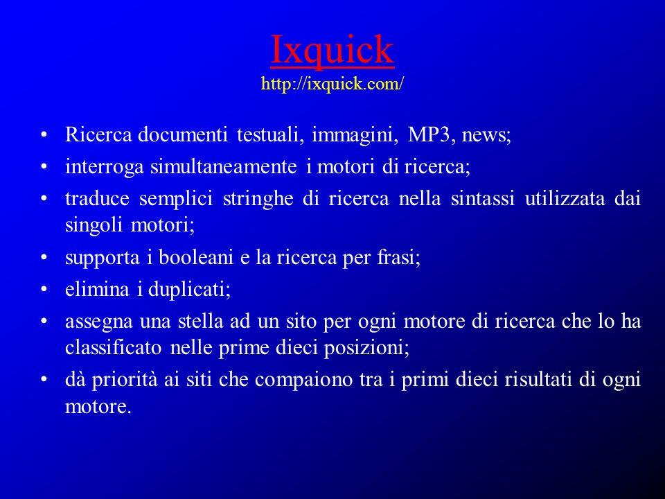 Ixquick http://ixquick.com/