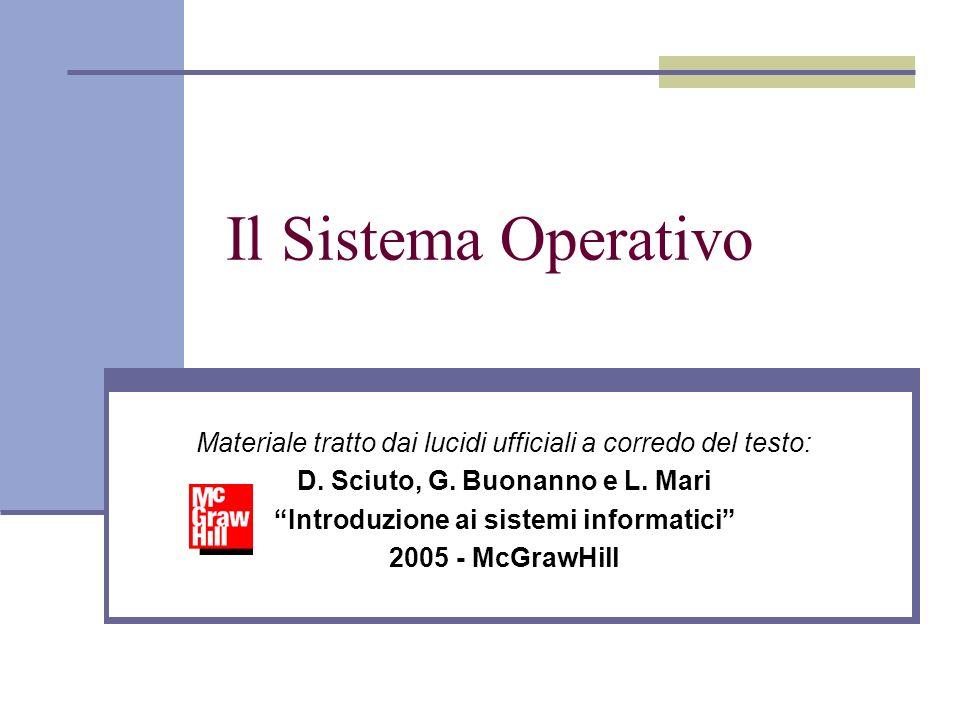 D. Sciuto, G. Buonanno e L. Mari Introduzione ai sistemi informatici