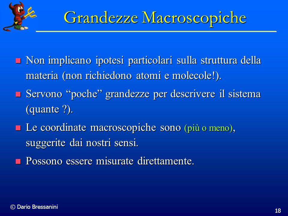Grandezze Macroscopiche